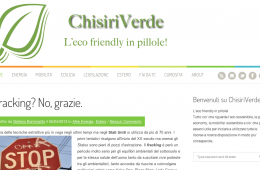 Portfolio – Creazione sito web – Chisiriverde.it